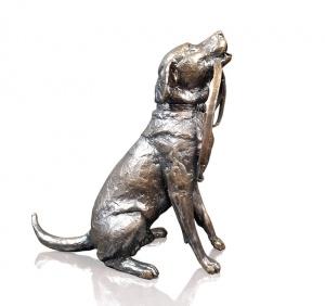 Labrador with Lead,