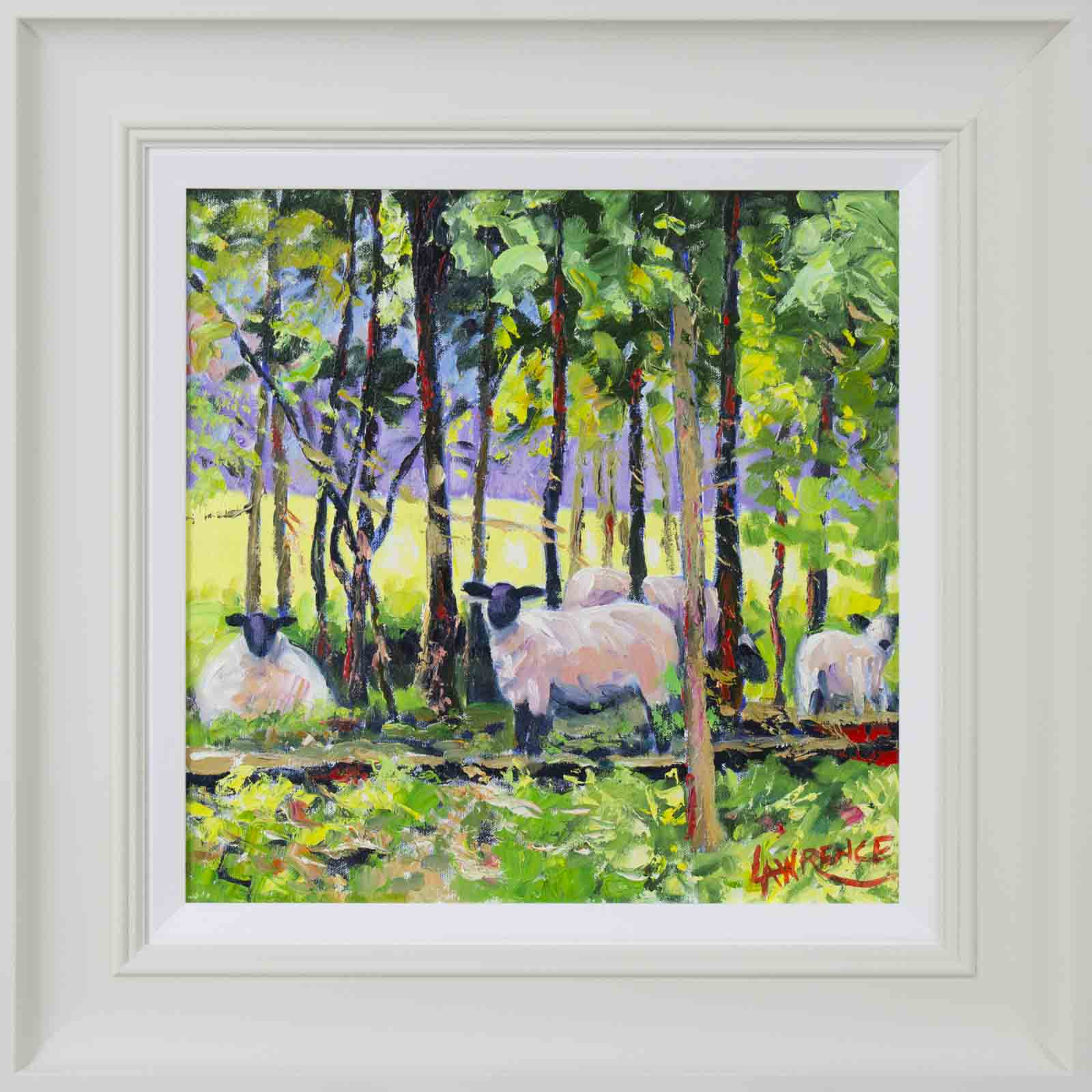 Sheep In The Glade