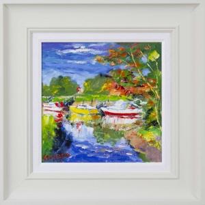 Yellow Boat, The Arun,